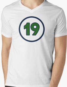 Massa 19 Mens V-Neck T-Shirt
