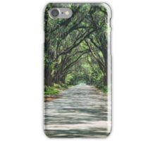 Take a Stroll with me in the Shade of the Live Oak iPhone Case/Skin