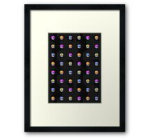 POCKET MONSTERS BALL COLLECTION Framed Print