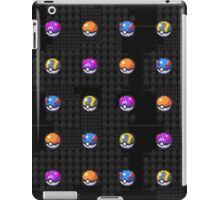 POCKET MONSTERS BALL COLLECTION iPad Case/Skin
