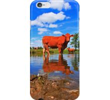 WATER COW iPhone Case/Skin