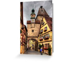 Roeder Arch & Markus Tower Greeting Card