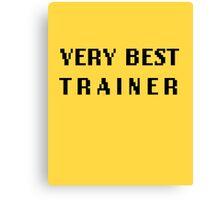 Very Best Trainer Tee Canvas Print