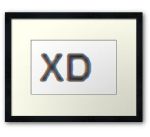 XD Framed Print