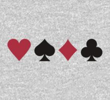 Poker cards One Piece - Long Sleeve