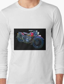1938 Indian Sport Scout M.C. Long Sleeve T-Shirt