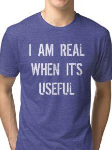 Batman Justice League real when useful Tri-blend T-Shirt