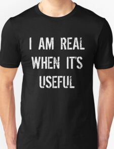 Batman Justice League real when useful Unisex T-Shirt