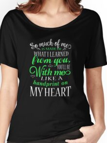 Wicked Musical Shirt. Women's Relaxed Fit T-Shirt