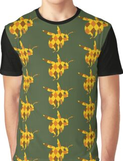 Argyle Bumblebee Graphic T-Shirt