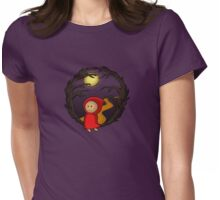Girl In The Woods - two lof bees Womens Fitted T-Shirt