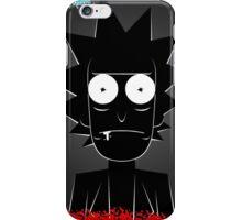 Rick (black) iPhone Case/Skin