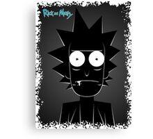 Rick (black) Canvas Print
