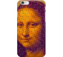 """WHIMSICAL MONA LISA"" ABSTRACT PRINT iPhone Case/Skin"