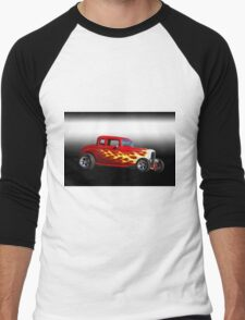 1932 Ford 'Five Window' Coupe Men's Baseball ¾ T-Shirt