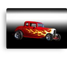 1932 Ford 'Five Window' Coupe Canvas Print