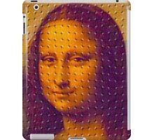 """WHIMSICAL MONA LISA"" ABSTRACT PRINT iPad Case/Skin"
