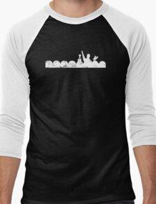 Vintage MST3K - dark Men's Baseball ¾ T-Shirt
