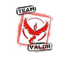 Graffiti Valor Logo Photographic Print