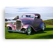 1932 Ford 'Lilac' Coupe Canvas Print