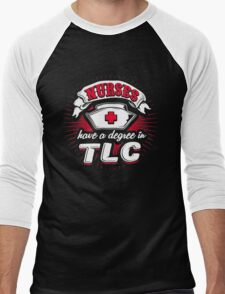 TLC Nurse Men's Baseball ¾ T-Shirt