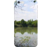 Sort of a man-made lake iPhone Case/Skin