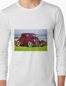 1932 Ford 'Old School Hot Rod' Coupe Long Sleeve T-Shirt