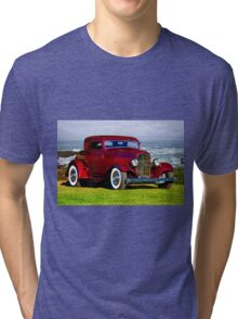 1932 Ford 'Old School Hot Rod' Coupe Tri-blend T-Shirt