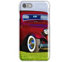 1932 Ford 'Old School Hot Rod' Coupe iPhone Case/Skin