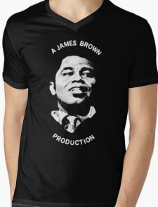 A James Brown Production Mens V-Neck T-Shirt