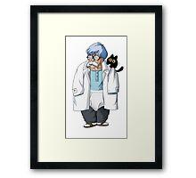 Dr Brief Framed Print