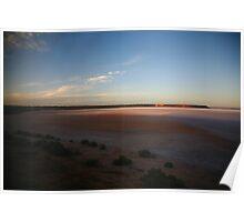 Lake Hart, South Australia Poster