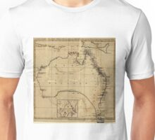 Vintage Map of Australia (1700s) Unisex T-Shirt