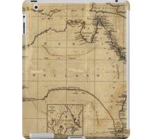 Vintage Map of Australia (1700s) iPad Case/Skin