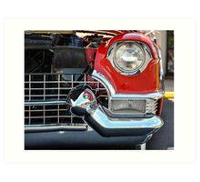 1955 Cadillac Eldorado Convertible Art Print