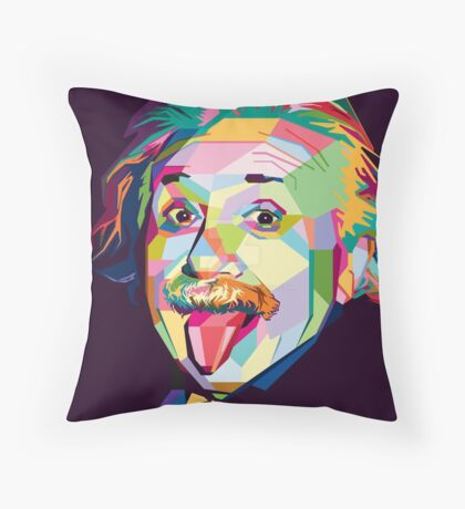 My dear Albert Throw Pillow
