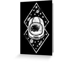 Space Traveller Greeting Card