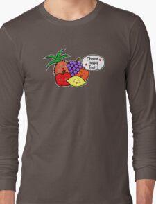 Happy Fruit - two lof bees Long Sleeve T-Shirt