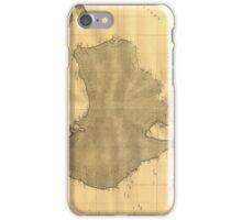 Vintage Map of Australia (1808) iPhone Case/Skin