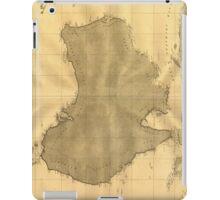 Vintage Map of Australia (1808) iPad Case/Skin