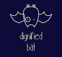 Dignified Bat - two lof bees by Josh Bush
