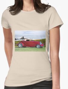 1934 Ford 'Surf n Turf' Roadster Womens Fitted T-Shirt