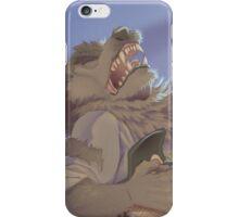 Werewolf Rocking Out iPhone Case/Skin