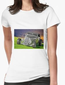 1934 Ford 'Gun Metal' Roadster Womens Fitted T-Shirt