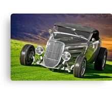 1934 Ford 'Gun Metal' Roadster Canvas Print