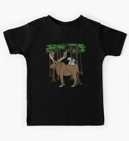 Moose & Squirrell Kids Tee