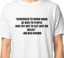 Mr Ben Brown Classic T-Shirt