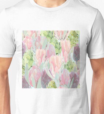 Protea and  artichokes  Unisex T-Shirt