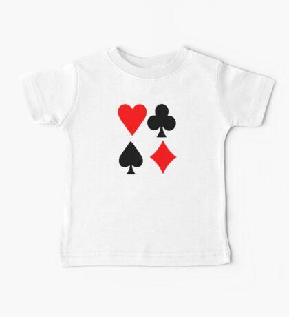 Poker deck colors Baby Tee
