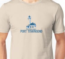 Port Townsend - Washington State.  Unisex T-Shirt